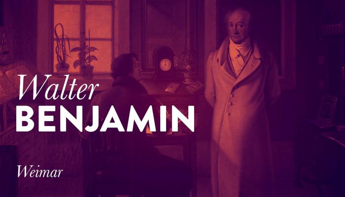 Walter Benjamin: Weimar