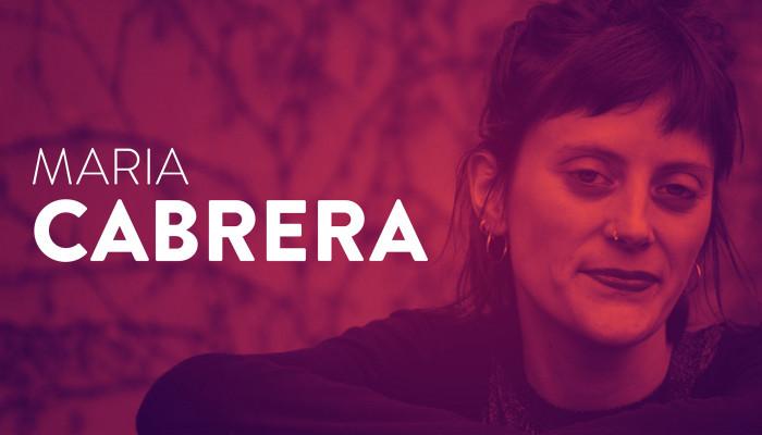 """""""Csak a szavak számítanak, minden olvasat pont ugyanannyira érvényes"""" (Interjú Maria Cabrerával)"""