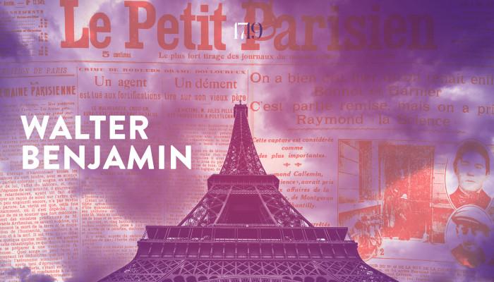 Walter Benjamin: Párizs, város a tükörben; Újság